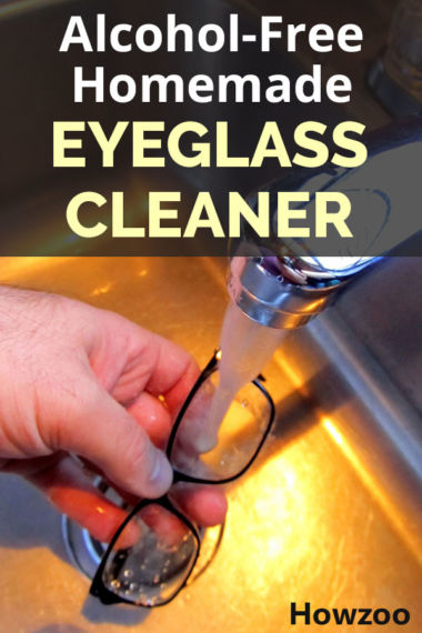 Alcohol-Free Homemade Eyeglass Cleaner