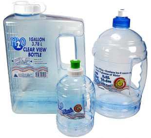 Arrow Plastic water bottles