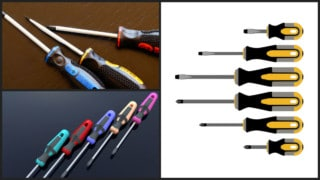 various screwdriver sets