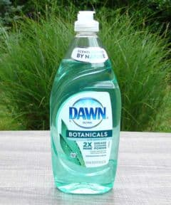 Dawn Ultra Botanicals Aloe Water Scent Dishwashing Liquid