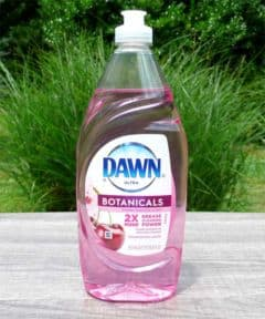 Dawn Ultra Botanicals Cherry Blossom Scent Dishwashing Liquid