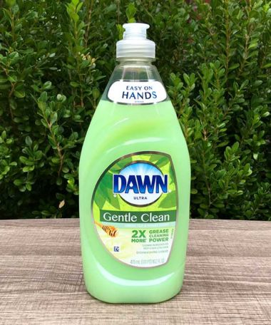 Dawn Ultra Gentle Clean Green Tea & Honey Scent Dishwashing Liquid
