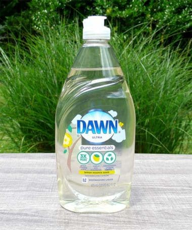 Dawn Ultra Pure Essentials Lemon Essence Dishwashing Liquid