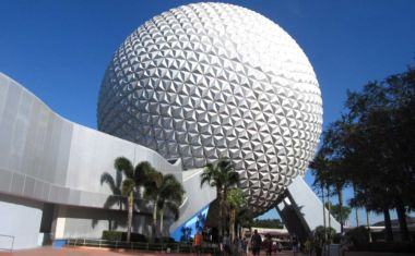 Epcot geodesic sphere