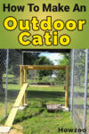 How To Make An Outdoor Catio